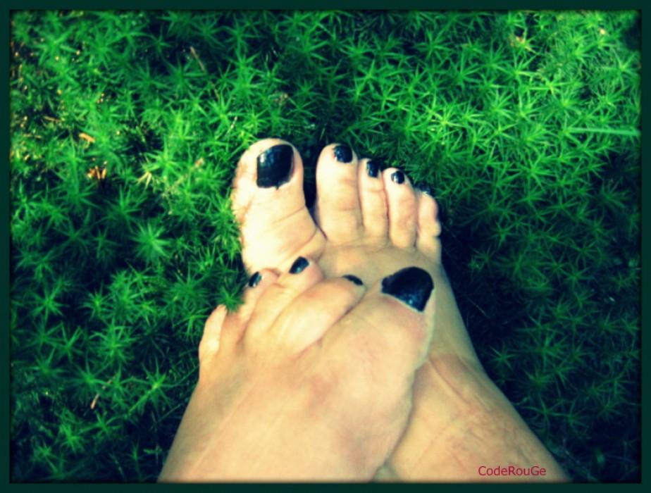 Mes pieds sont au vert !