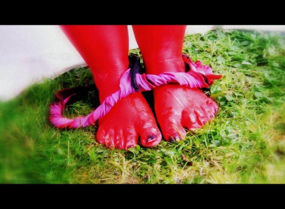 Des pieds rouge pour les fans de recode