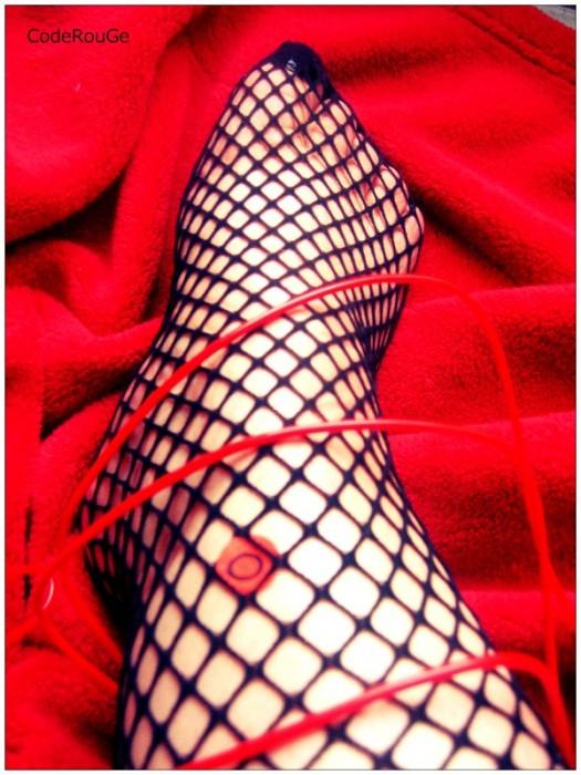 Photo érotic pour fétichiste des pieds