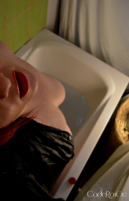 Sensualité dans le bain
