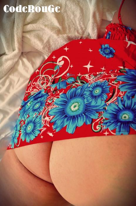 Sans culotte sous la robe
