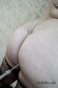 Perles dans ma raie