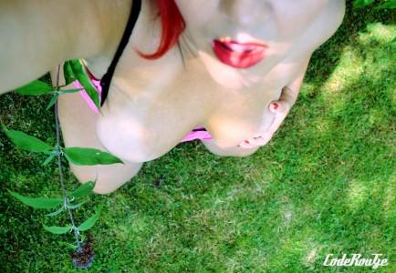 A genou dans l herbe