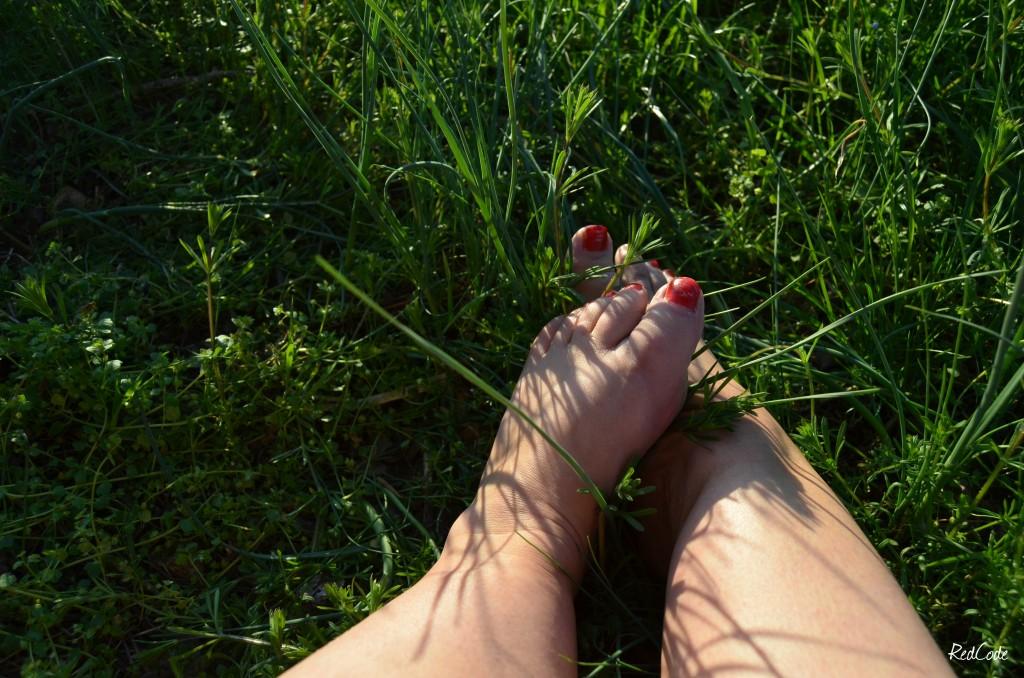 Mes pieds à lecher